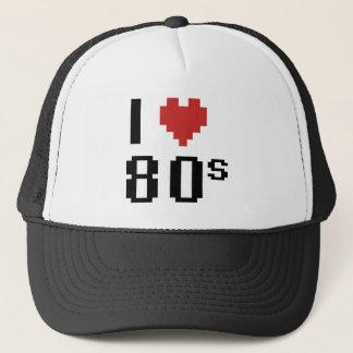 Casquette Coeur I les années 80