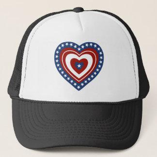 Casquette Coeur patriotique des Etats-Unis