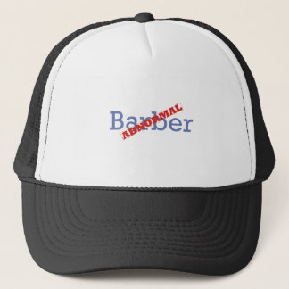 Casquette Coiffeur/anormal