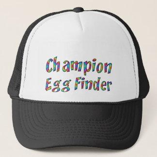 Casquette Coloré drôle de trouveur d'oeufs de champion de