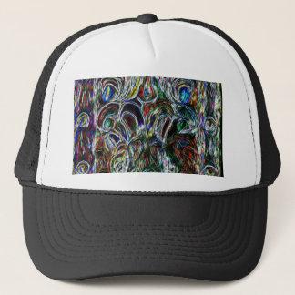 Casquette Conception colorée d'art de bruit d'effet en verre