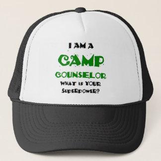 Casquette conseiller de camp