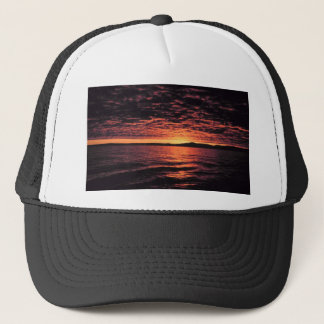 Casquette Coucher du soleil de mer de Béring