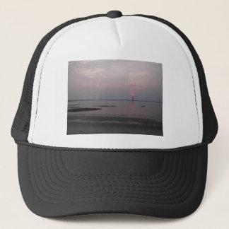 Casquette Coucher du soleil de plage de folie