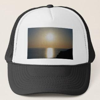 Casquette Coucher du soleil du nord de cendre volcanique de