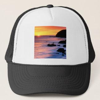 Casquette Coucher du soleil Pacifique la Californie