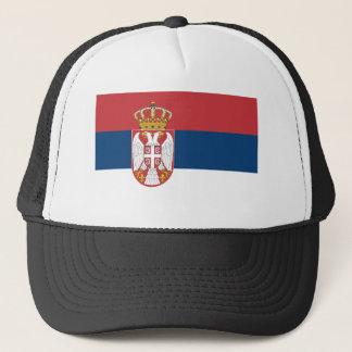 Casquette Coût bas ! Drapeau de la Serbie