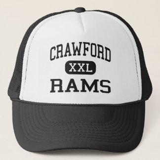 Casquette Crawford - RAM - lycée - Crawford Nébraska
