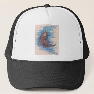 Casquette Créature d'animal sauvage de loutre de mer petite