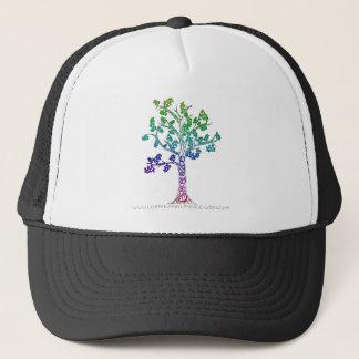 Casquette Créez les lignes d'arbre de couleur