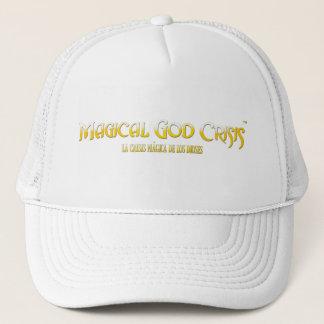 Casquette Crise magique de Dieu (casquette blanc)