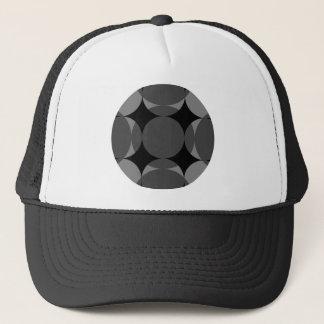 Casquette Croix à quatre étoiles solide de cercle par