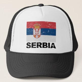 Casquette Cru de drapeau de la Serbie