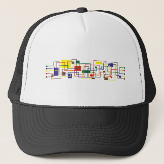 casquette d'abstract_retro