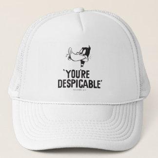 """Casquette DAFFY classique DUCK™ """"vous êtes ignobles """""""