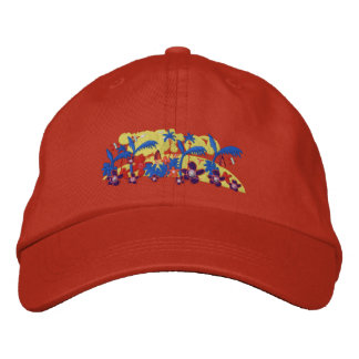 Casquette d'art : Matin tropical