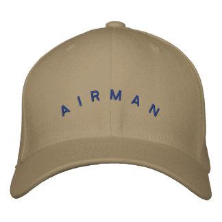 Casquette d'aviateur casquette brodée