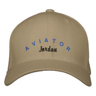 Casquette d'aviateur casquette de baseball brodée
