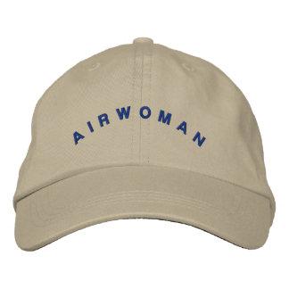 Casquette d'aviatrice d'Airwoman Casquettes De Baseball Brodées
