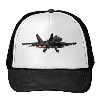 Casquette d'avion de chasse du frelon F/A-18