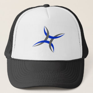 Casquette de baseball abstraite de conception