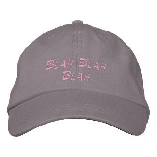 Casquette de baseball Blah - casquette brodé fade