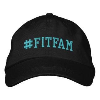 Casquette de baseball brodée par Hashtag de FITFAM