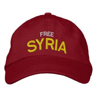 Casquette de baseball de coutume de la Syrie