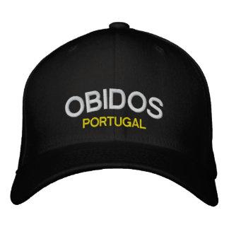 Casquette de baseball de coutume d'Obidos Portugal