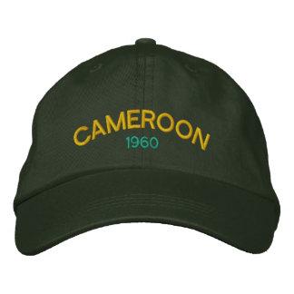 Casquette de baseball de coutume du Cameroun