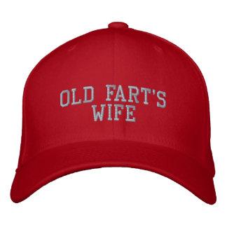 Casquette de baseball de l'épouse du vieux pet