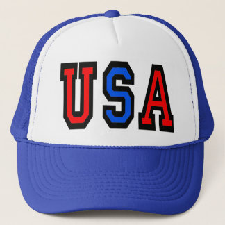 Casquette de baseball patriotique des Etats-Unis