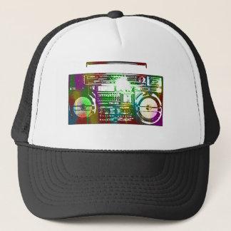 casquette de boombox des années 80