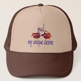 casquette de boue