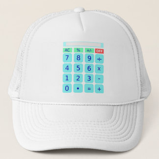 Casquette de calculatrice