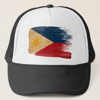 Casquette de camionneur de drapeau de Philippines