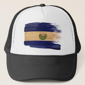 Casquette de camionneur de drapeau du Salvador