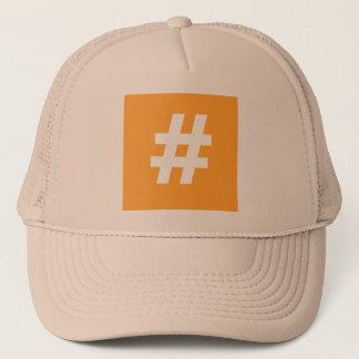 Casquette de camionneur de Hipstar Hashtag