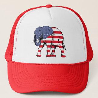 Casquette de camionneur des Etats-Unis d'éléphant