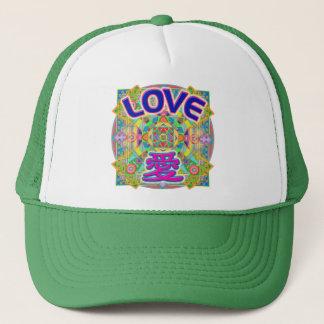 Casquette de conception d'amour