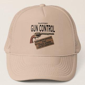 Casquette de contrôle des armes de soutien