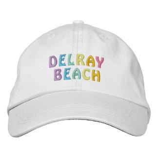 Casquette de DELRAY BEACH Chapeau Brodé