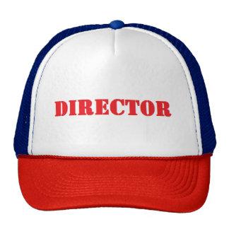 casquette de directeur
