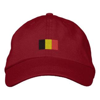 Casquette de drapeau de la Belgique - casquette Casquette De Baseball Brodée