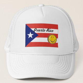 Casquette de drapeau de Porto Rico