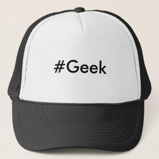 Casquette de hashtag de geek