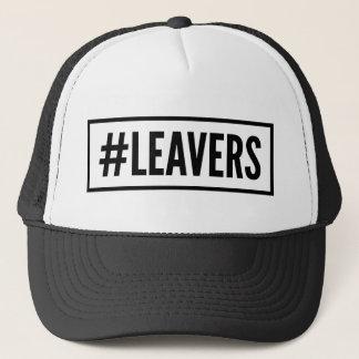 casquette de hashtag de #Leavers