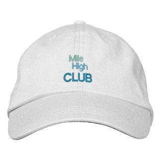Casquette DE HAUT de CLUB de MILLE