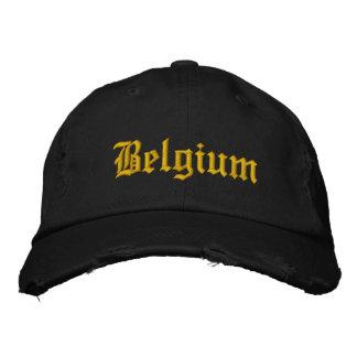 Casquette de la Belgique Casquettes De Baseball Brodées