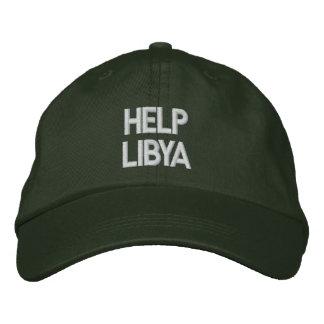 Casquette de la Libye d'aide